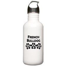 French Bulldog Dad Water Bottle