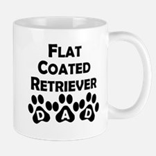 Flat-Coated Retriever Dad Mugs