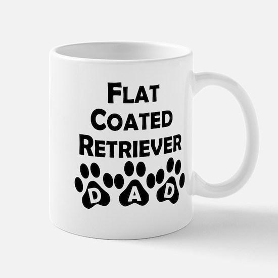 Flat-Coated Retriever Dad Mugs