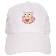 Yellow owl Baseball Baseball Cap