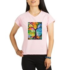 Dreaming Tree by Sally Trace Performance Dry T-Shi