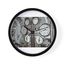 Gauges Wall Clock