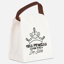 Cute Big sister princess Canvas Lunch Bag