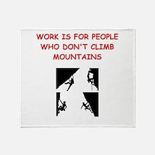 MOUNTAIN1 Throw Blanket