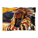 Indian chief Pillow Cases