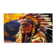 Indian Chief 3'x5' Area Rug