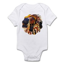 Indian Chief Infant Body Suit