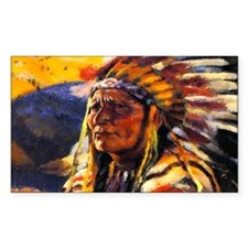 Indian Chief Decal
