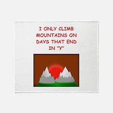 MOUNTAIN2 Throw Blanket