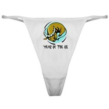Year of the Ox Classic Thong