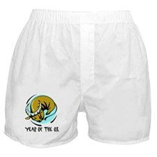 Year of the Ox Boxer Shorts