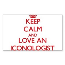 Keep Calm and Love an Iconologist Decal