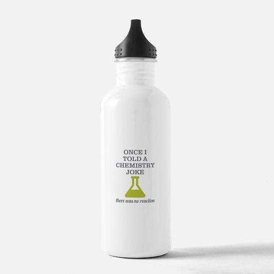 Chemistry Joke Water Bottle