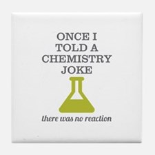 Chemistry Joke Tile Coaster
