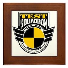 TEST Squadron Framed Tile