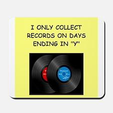 RECORDS5 Mousepad