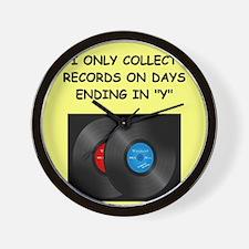RECORDS5 Wall Clock