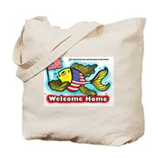 American Flag Fish US -wFlag- FABSPARK sp Tote Bag
