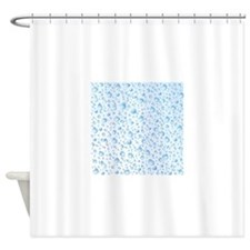 Clear Water Drops Pattern Shower Curtain