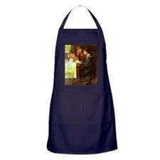 The Sewing Box - Mary Louisa Gow pain Apron (dark)