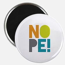 """NOPE 2.25"""" Magnet (100 pack)"""