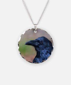 Portrait of a Raven Necklace