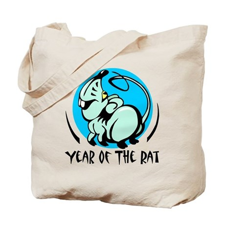 Yr Of Rat Tote Bag