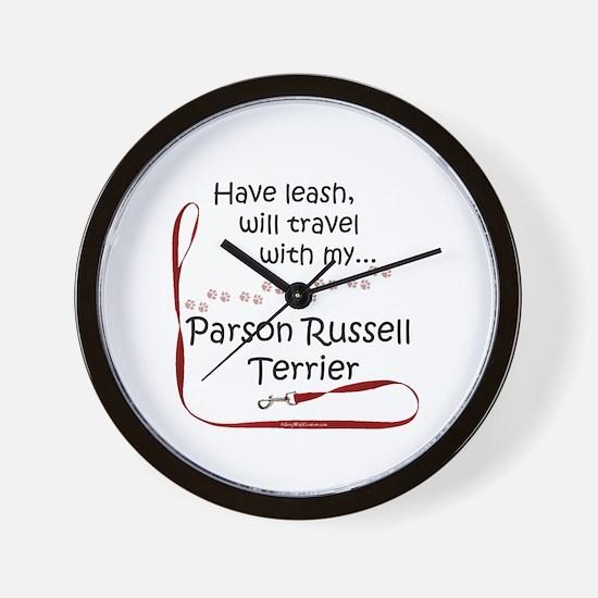 Parson Travel Leash Wall Clock