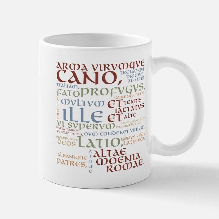 Vergil Ancient Colors Mug Mugs