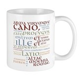 Latin Standard Mugs (11 Oz)