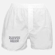 School Spanking Boxer Shorts