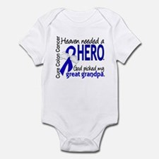 Colon Cancer HeavenNeededHero1.1 Infant Bodysuit