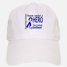 Colon Cancer HeavenNeededHero1 Baseball Baseball Cap