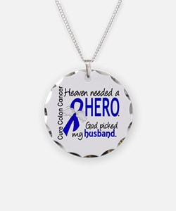 Colon Cancer HeavenNeededHer Necklace