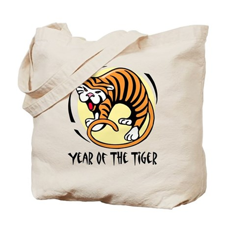 Yr of Tiger Tote Bag