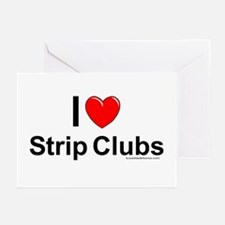 Strip Clubs Greeting Cards (Pk of 10)