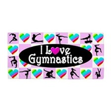 Super Star Gymnast Beach Towel