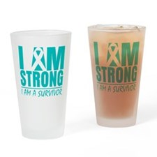 Scleroderma Strong Drinking Glass