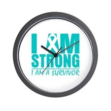 Scleroderma Strong Wall Clock