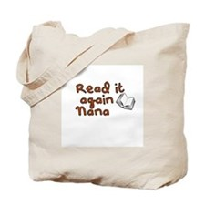 Read it again Nana Tote Bag