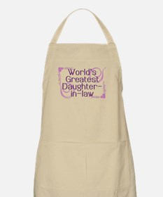 World's Greatest Daughter-in-Law BBQ Apron
