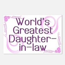World's Greatest Daughter-in-Law Postcards (Packag