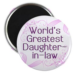 World's Greatest Daughter-in-Law Magnet