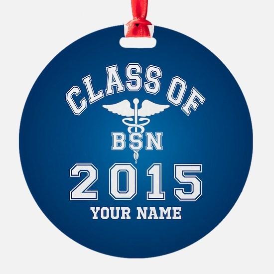 Class Of 2015 BSN Ornament