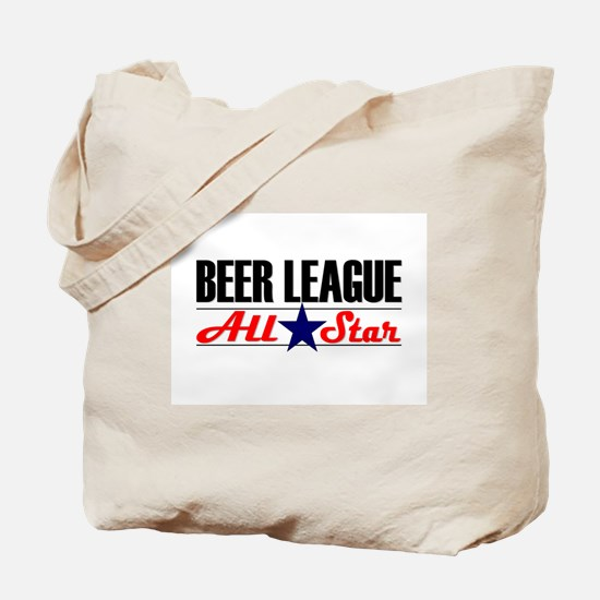 Beer League All Star Tote Bag