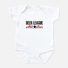 Beer League All Star Infant Bodysuit