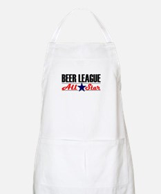 Beer League All Star BBQ Apron