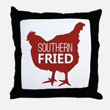 Southern Fried Throw Pillow