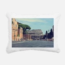 roman days  Rectangular Canvas Pillow