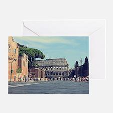 roman days  Greeting Card
